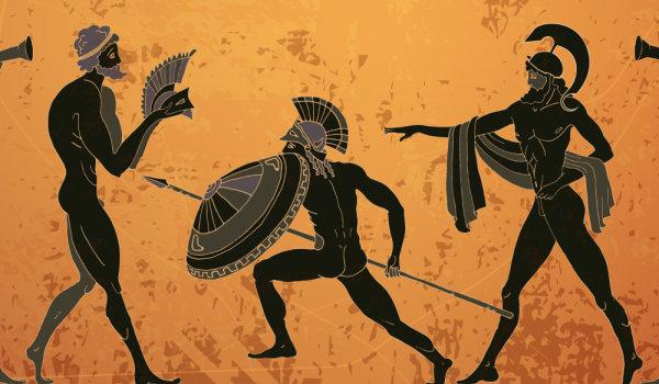 По пътеките в митологията…